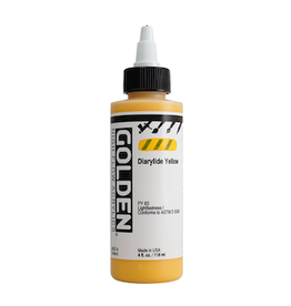 GOLDEN ACRYLICS HIGH FLOW 4oz DIARYLIDE YELLOW