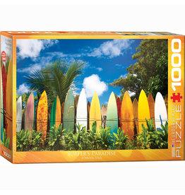 EURPGRAPHICS PUZZLES 1000 PIECE PUZZLE - SURFER'S PARADISE