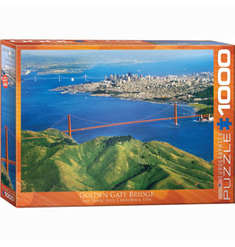 EURPGRAPHICS PUZZLES 1000 PIECE PUZZLE - GOLDEN GATE BRIDGE