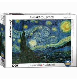 EURPGRAPHICS PUZZLES 1000 PIECE PUZZLE - VAN GOGH STARRY NIGHT