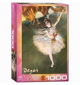 EURPGRAPHICS PUZZLES 1000 PIECE PUZZLE - DEGAS BALLERINA