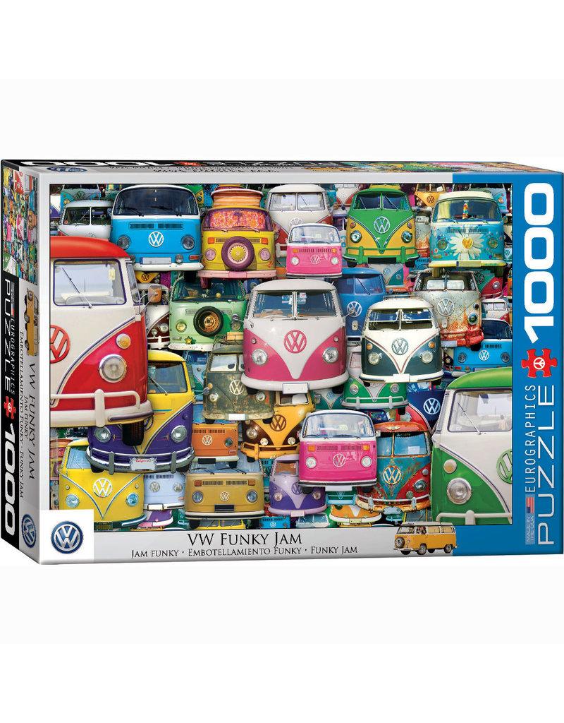 EURPGRAPHICS PUZZLES 1000 PIECE PUZZLE - VW FUNKY JAM