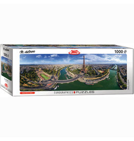 EURPGRAPHICS PUZZLES 1000 PIECE PUZZLE PANORAMIC - PARIS