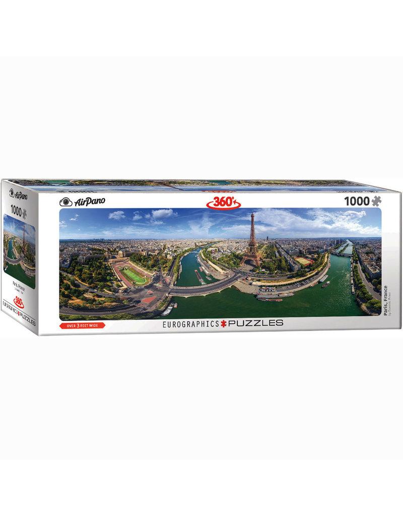 EURPGRAPHICS PUZZLES 1000 PIECE PUZZLE PANORAMIC - PARIS