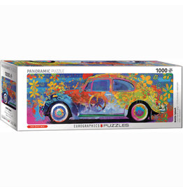 EURPGRAPHICS PUZZLES 1000 PIECE PUZZLE PANORAMIC - BEETLE SPLASH