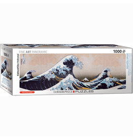 EURPGRAPHICS PUZZLES 1000 PIECE PUZZLE PANORAMIC - GREAT WAVE