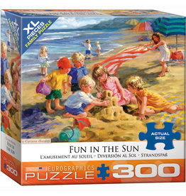 EURPGRAPHICS PUZZLES 300 PIECE PUZZLE OVERSIZE - FUN IN THE SUN