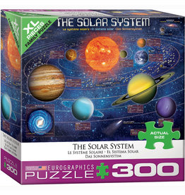 EURPGRAPHICS PUZZLES 300 PIECE PUZZLE OVERSIZE - THE SOLAR SYSTEM