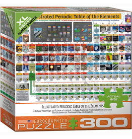 EURPGRAPHICS PUZZLES 300 PIECE PUZZLE OVERSIZE - PERIODIC TABLE
