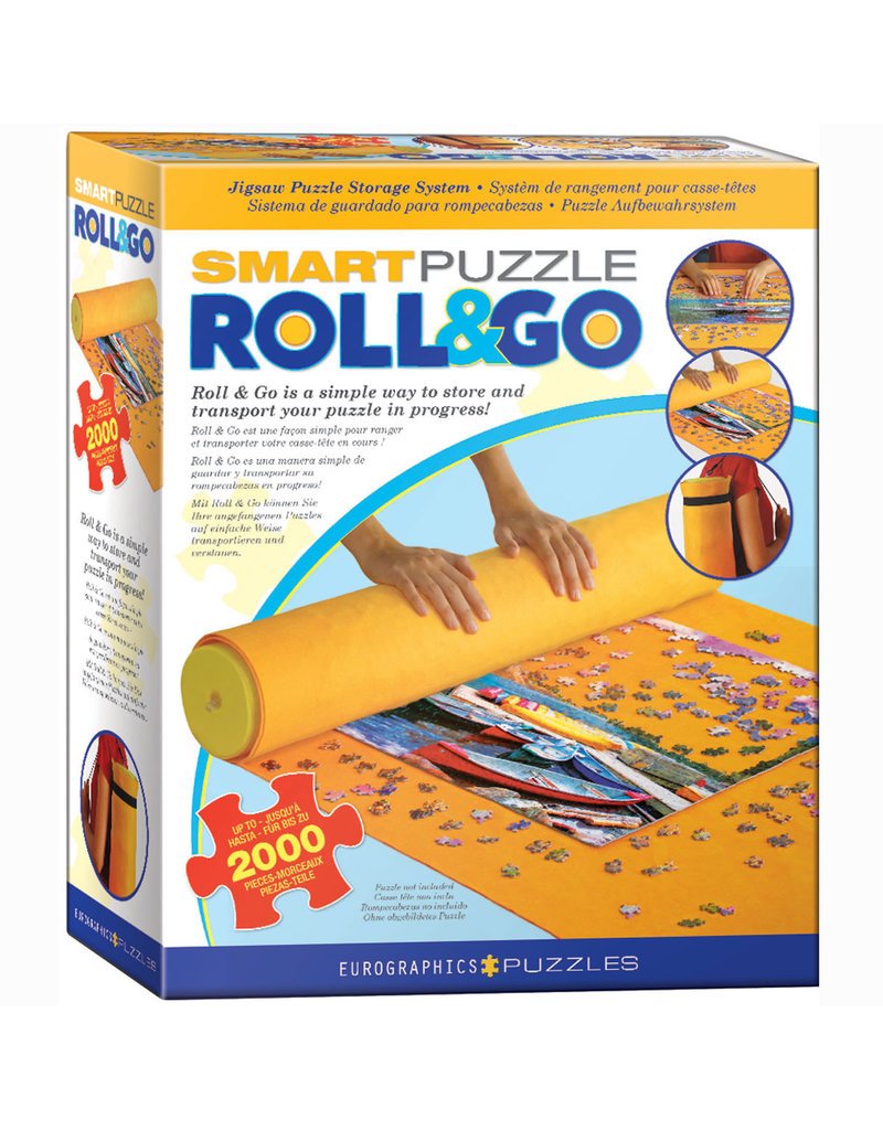 EURPGRAPHICS PUZZLES SMART PUZZLE ROLL & GO