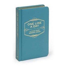 ONE LINE A DAY: 5 YR MEMORY BK
