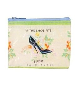 COIN PURSE - IF SHOE FITS