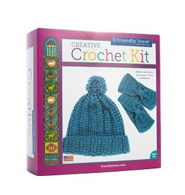 CREATIVE CROCHET KIT - BLUE
