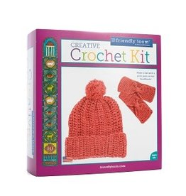 CREATIVE CROCHET KIT - RED