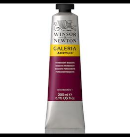 WINSOR & NEWTON GALERIA 200ml TUBE PERMANENT MAGENTA