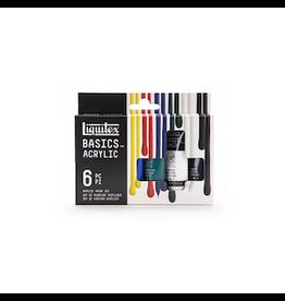 LIQUITEX BASICS ACRYLIC SET 6X22ml