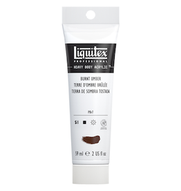 LIQUITEX LIQUITEX HEAVY BODY 2oz TUBE BURNT UMBER