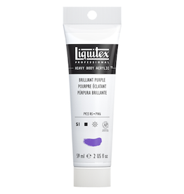 LIQUITEX LIQUITEX HEAVY BODY 2oz TUBE BRILLANT PURPLE