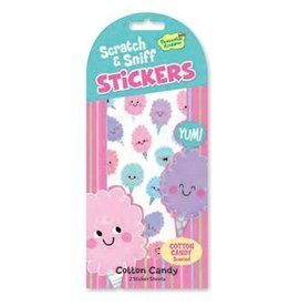 SCRATCH AND SNIFF STICKERS COTTON CANDY