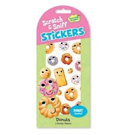 SCRATCH AND SNIFF STICKERS DONUTS