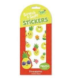 SCRATCH AND SNIFF STICKERS PINEAPPLE