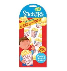 SCRATCH AND SNIFF STICKERS POPCORN