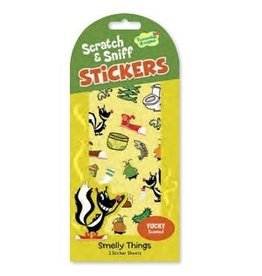 SCRATCH AND SNIFF STICKERS SMELLY