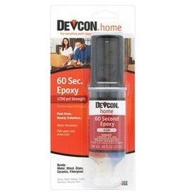 DEVCON CLEAR 60-SECOND EPOXY