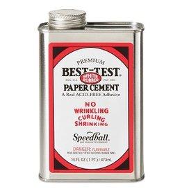 SPEEDBALL BEST-TEST PAPER CEMENT 16oz
