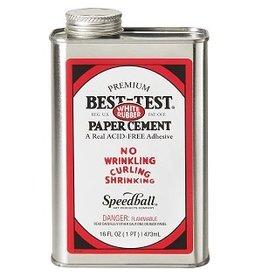 SPEEDBALL BEST-TEST RUBBER CEMENT 16oz