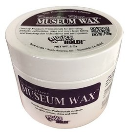 CLEAR MUSEUM WAX