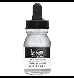 LIQUITEX LIQUITEX INK 30ml IRIDESCENT BRIGHT SILVER