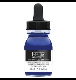 LIQUITEX LIQUITEX INK 30ml PHTHALOCYANINE BLUE GREEN SHADE