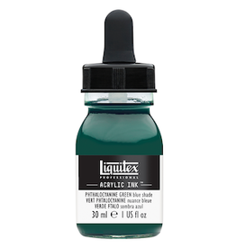 LIQUITEX LIQUITEX INK 30ml PHTHALOCYANINE GREEN BLUE SHADE