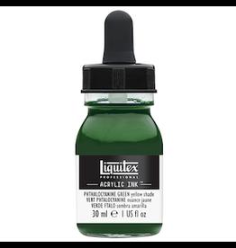 LIQUITEX LIQUITEX INK 30ml PHTHALOCYANINE GREEN YELLOW SHADE