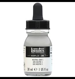 LIQUITEX LIQUITEX INK 30ml NEUTRAL GREY 5