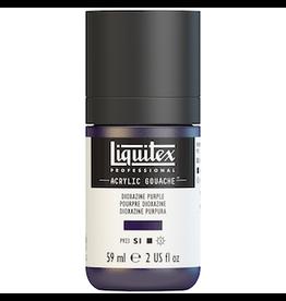 LIQUITEX LIQUITEX ACRYLIC GOUACHE 59ml JAR DIOXAZINE PURPLE