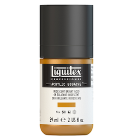 LIQUITEX LIQUITEX ACRYLIC GOUACHE 59ml JAR IRIDESCENT BRIGHT GOLD
