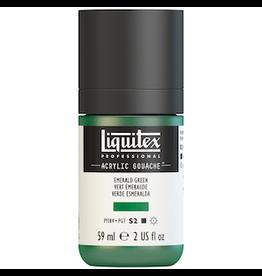 LIQUITEX LIQUITEX ACRYLIC GOUACHE 59ml JAR EMERALD GREEN