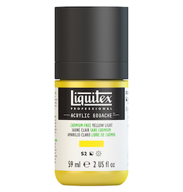 LIQUITEX LIQUITEX ACRYLIC GOUACHE 59ml JAR CADMIUM-FREE YELLOW LIGHT