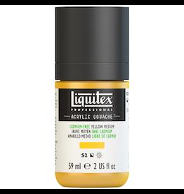 LIQUITEX LIQUITEX ACRYLIC GOUACHE 59ml JAR CADMIUM-FREE YELLOW MEDIUM