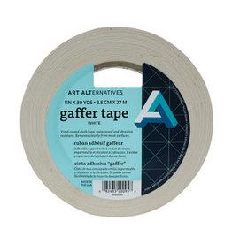 "GAFFER TAPE 1""X30YD WHITE"