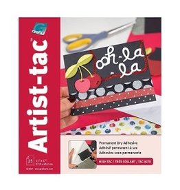 "ART-TAC ADHESIVE 11""X17"" SHEET"