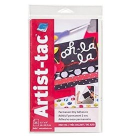 "ART-TAC ADHESIVE 5.5""x9"" SHEET"