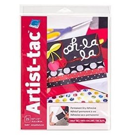 "ART-TAC ADHESIVE 8.5""x11"" SHEET"