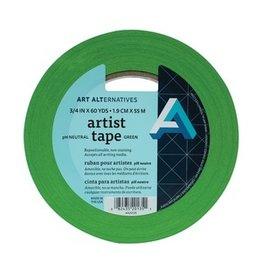 """AA ARTIST TAPE 3/4""""X60YD GREEN"""