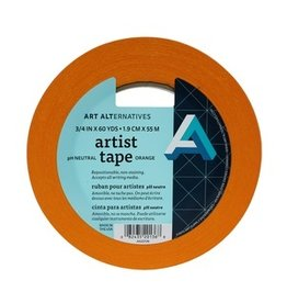 "AA ARTIST TAPE 3/4""X60YD ORANGE"