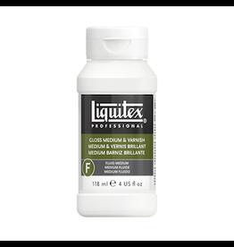 LIQUITEX LIQUITEX GLOSS MEDIUM & VARNISH 4oz