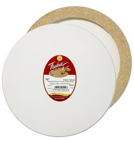 TARA FREDRIX FREDRIX ROUND STRETCHED CANVAS 12''