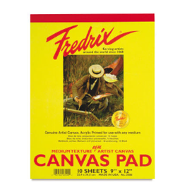 FREDRIX CANVAS PAD 9X12